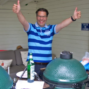 Big Green Egg Fan Duri Campell