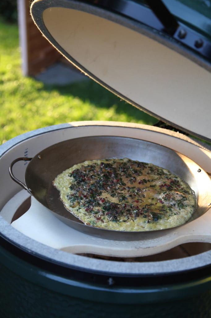 Frittata auf dem Big Green Egg