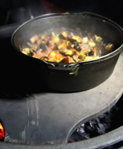 Ratatouille auf dem Big Green Egg