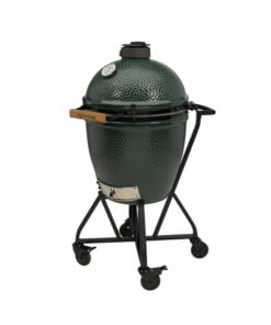 Big Green Egg mit Rollwagen