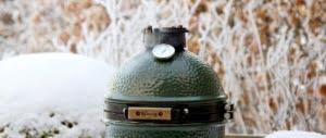 Wintergrillen mit Big Green Egg