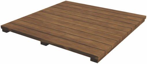 Platte aus Akazienholz für Tisch