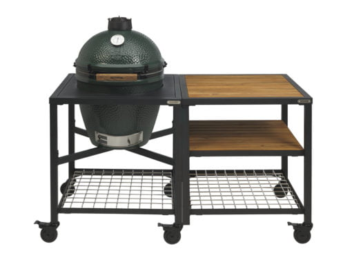 Big Green Egg Large im Tisch